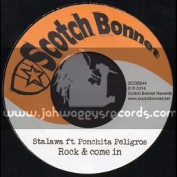 """Scotch Bonnet-7""""-Rock & Come In / Ponchita Peligros"""