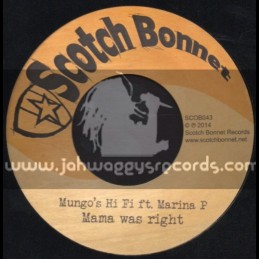 "Scotch Bonnet-7""-Mama Was Right / Marina P"