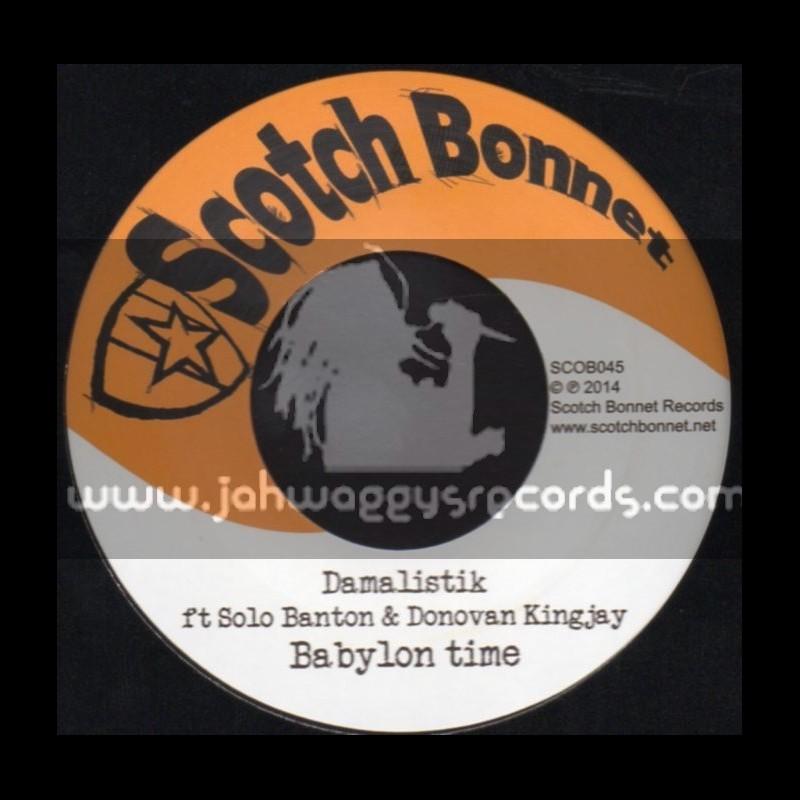 """Scotch Bonnet-7""""-Babylon Time / Solo Banton & Donovan Kingjay"""
