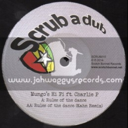 "Scrub A Dub-12""-Rules Of The Dance / Charlie P"