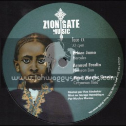 "Zion Gate Music-12""-Hercules / Prince Jamo"