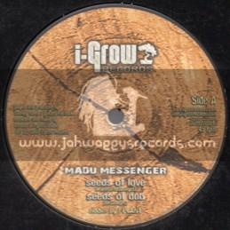"I-Grow Records-10""-Seeds Of Love / Madu Messenger"