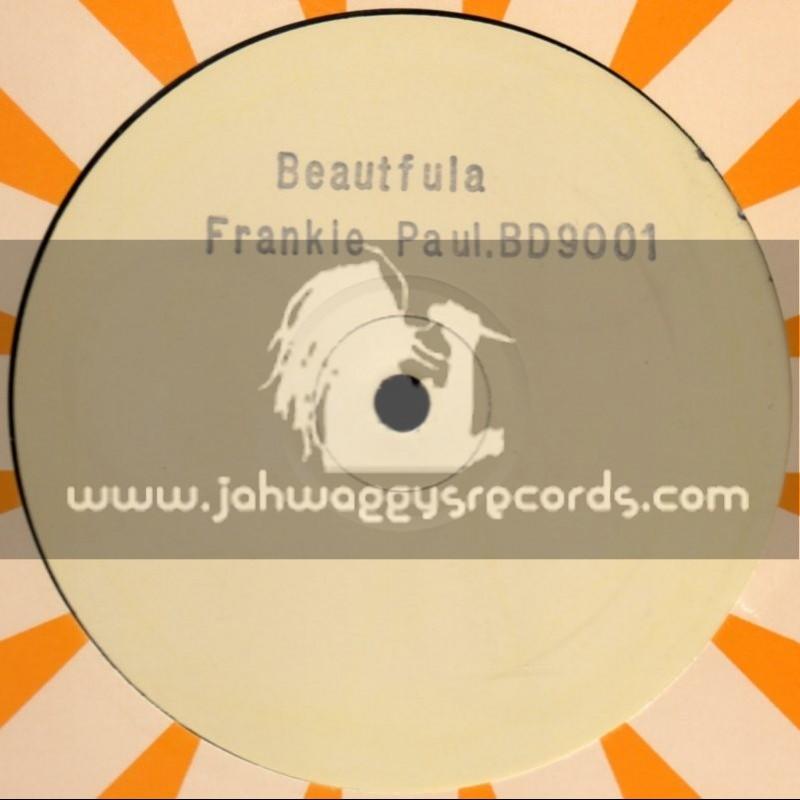 "No Label(Blacker Dread)-12""-Real Rough / Tony Rebel + Beautifula / Frankie Paul"