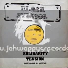 """Black Symbol-12""""-Solidarity + Tension / Black Symbol"""
