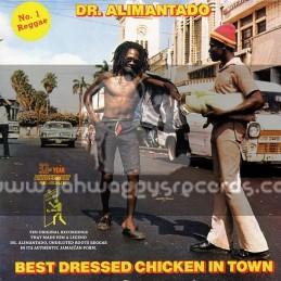 Keyman-Lp-Best Dressed Chicken In Town / Dr Alimantado