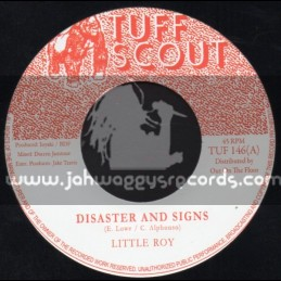 "Tuff Scout-7""-Disaster & Signs / Little Roy"