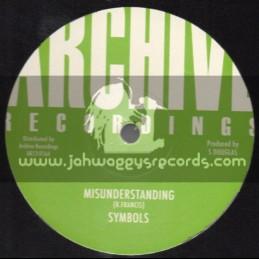 "Archive Recordings-12""-Misunderstanding / Symbols (King Tubbys)"