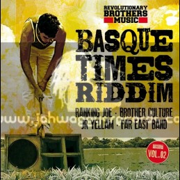 "Revolutionary Brothers Music-Vol 2-10""-Basque Times Riddim / Ranking Joe - brother Culture - Jr Yellam & Far East"