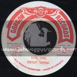 "Gorgon Records-7""-Mini Van / Sister Verna"