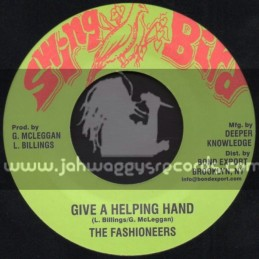 """Swing Bird-7""""-Give A Helping Hand / The Fashioneers"""