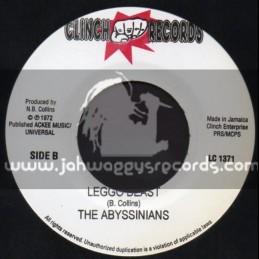 "Clinch Records-7""-Leggo Beast / aBYSSINIANS"