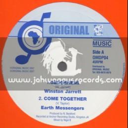 "Original Music-10""-Gedsenemi / Winston Jarrett + Come Together / Earth Messengers"
