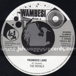 """Wambesi-7""""-Promised Land / The Royals"""