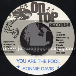 "On Top Records-7""-You Are The Fool / Ronnie Davis"