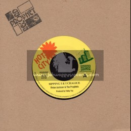 """Hot City-7""""-Sipping I & I Chalice / Vivian Jackson & The Prophets"""