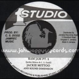 "Studio 1-7""-Ram Jam / Jackie Mittoo & The Sound Dimensions"
