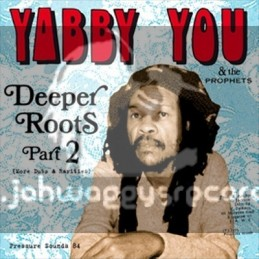 Pressure Sounds-Double Lp-Deeper Roots Part 2 / Yabby You & The Prophets