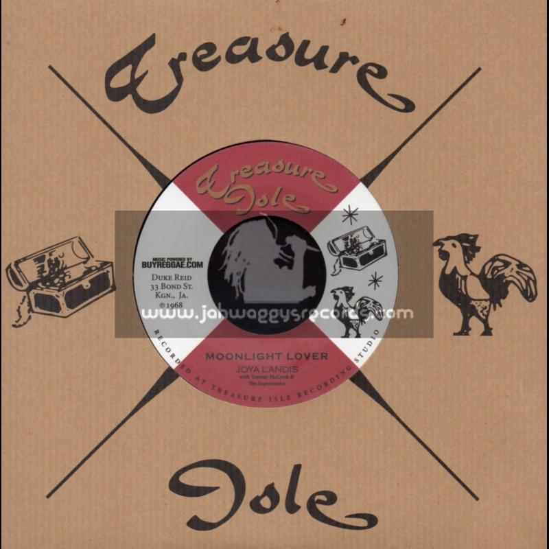 """Treasure Isle-7""""-Moonlight Lover / Joya Landis"""
