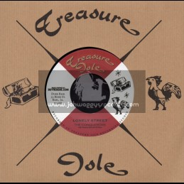 """Treasure Isle-7""""-Lonely Street / The Conquerors + Dont Play That Song / The Moving Brothers"""