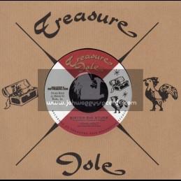 "Treasure Isle-7""-Sister Big Stuff / John Holt + Single Barrell / Tommy McCook"