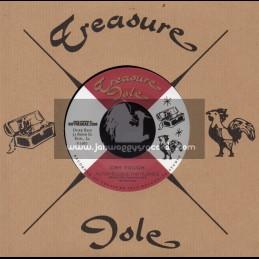 "Treasure Isle-7""-Cry Tough / Alton Ellis & The Flames + Toughest Dub / Erroll Brown"