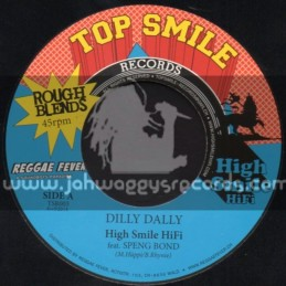 """Top Smile Records-7""""-Dilly Dally / Speng Bond"""