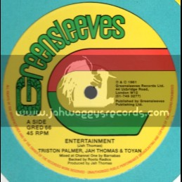 "Greensleeves-12""-Entertainment / Triston Palmer , Jah Thomas & Toyan"