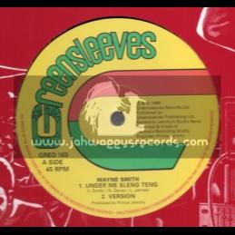 """Greensleeves-12""""-Under Me Sleng Teng / Wayne Smith"""