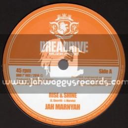 """Dreadrive Muzik Prod-7""""-Rise And Shine / Jah Marnyah"""