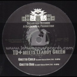 "Dreadlyon Records-12""-Ghetto Child / TD+ Meets Leroy Green"