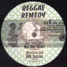"Reggae Remedy-10""-Dub Resistance + Push Push / Ras Cos Tafari"