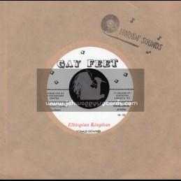 """Gay Feet-7""""-Ethiopian Kingdom / Ronald Downer With Count Ossie & His Band"""