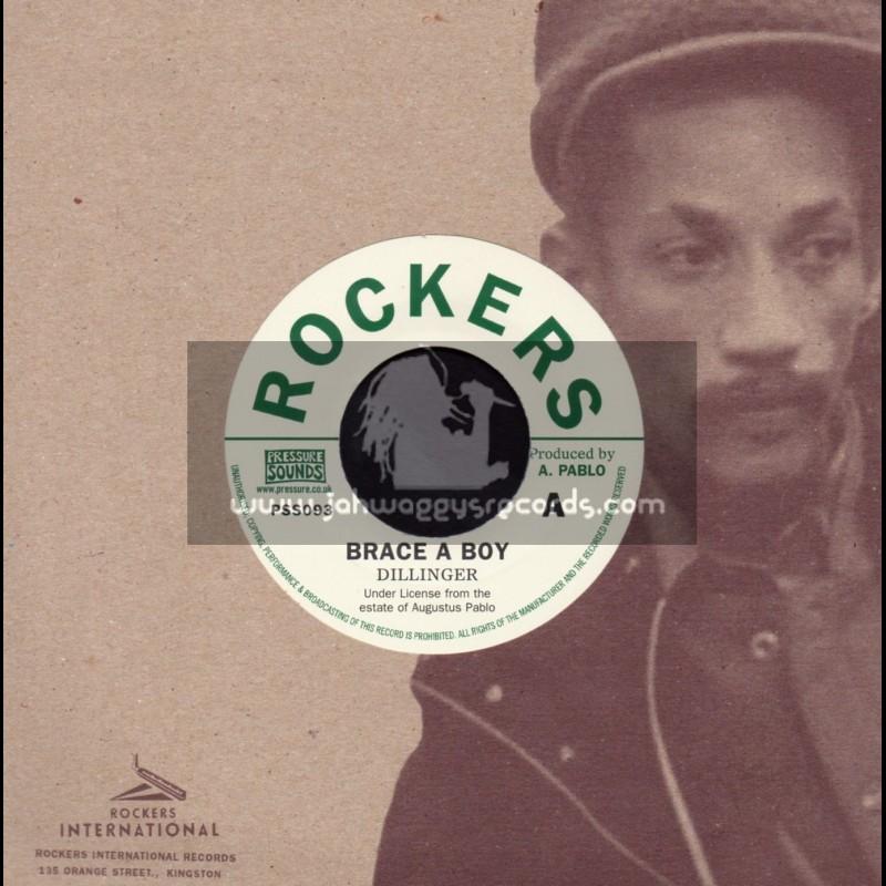 """Rockers International-7""""-Brace Boy / Dillinger"""