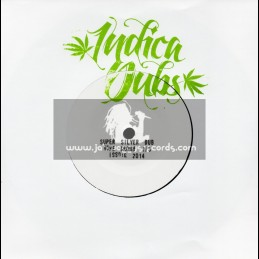 "Indica Dubs-7""-Super Silver Dub / Indica Dubs Meets Conscious Sounds(Home Grown 1/3)"