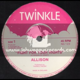 """Twinkle Brothers-12""""-Fight For Your Rights / Allison"""