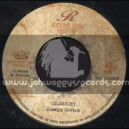 """Rocking Time Records-7""""-Ting A Ling / Ricky Grant + Celebrity / Joseph Cotton"""