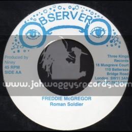 """Observer-7""""-Roman Soldier + Teas My Loving / Freddie McGregor"""