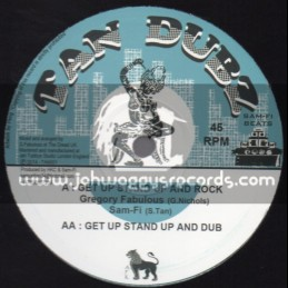 "Tan Dubz-10""-Get Up Stand Up And Rock / Gregory Fabulous + Stop The Fuss / Sam Fi & Russ D"