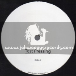 "Test Press-Jah Militant Records-12""-Visions Of Jah + Harmony / The Bushman"