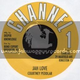 """Channel 1-7""""-Jah Love / Courtney Peddlar"""