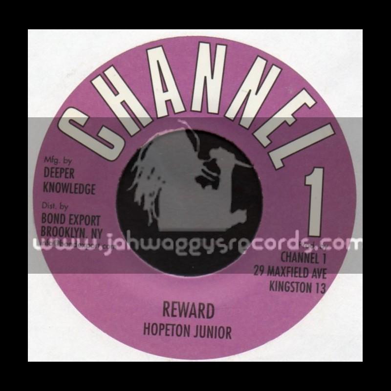 """Channel 1-7""""-Reward / Hopeton Junior"""
