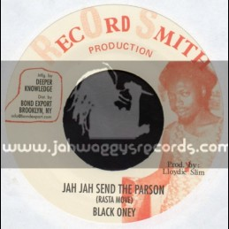 "Record Smith Production-7""-Jah Jah Send The Parson / Black Oney"