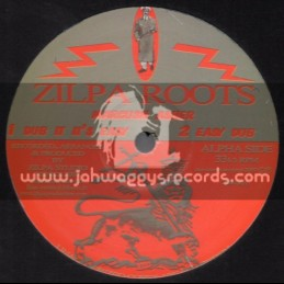 """Zilpa Roots-12""""-Jah Rules Dub / Zilpa Roots + Dub It Its Easy / Marcush Asher"""