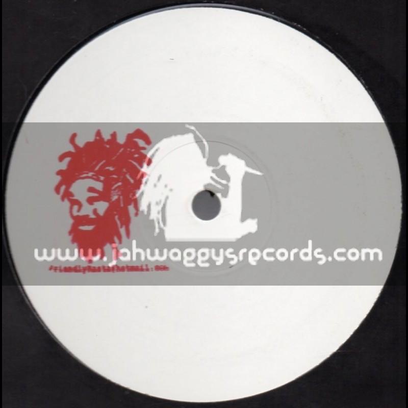 "Friendly Rasta-12""-MASH Up 002 / Red Stamp"
