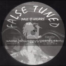 "False Tuned-12""-Drifting Along + So Fine / Paul St .Hilaire"