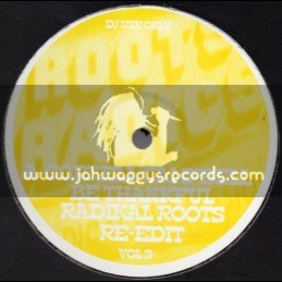 """Roots Radics-12""""-Be Thankful / Cornell Campbell + Back Together / Norman Star Collins & Clair McLean"""