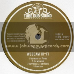 "Tube Dub Sound Records-12""-Web Cam Hi-Fi Feat. Parvez , Tony Roots , Horace Martin & Benjammin"