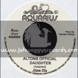 """Aquarius-7""""-Alton Official Daughter / Alton Ellis"""