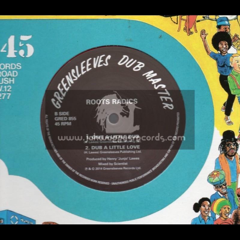 "Greensleeves-12""-Give A Little Love / Johnny Osbourne"