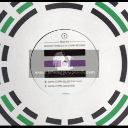 """Steppas Records-10""""-The Eight Trigrams Of Steppas Records 3 - Fire Key / Ras Dago + Shaka Sator / Alpha Steppa"""